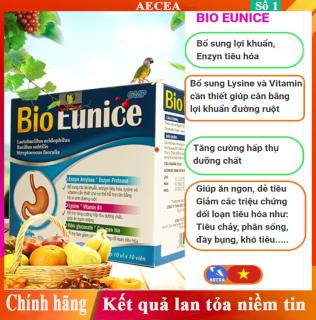 Thực phẩm bảo vệ sức khỏe BIO EUNICE men tiêu hóa cho trẻ em và người lớn thumbnail