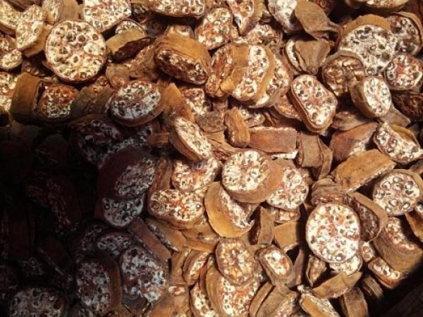 Chuối hột rừng thái lát phơi khô thơm nức (1kg)