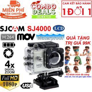 Quà Tặng Trị Giá 99K-Camera hành trình giá rẻ cho xe máy , Camera hanh trinh han quoc - Camera hành trình tốt SJCAM SJ4000 - HD1080P, hình ảnh rõ nét, CƠN LỐC giảm giá lên tới 50% hôm nay M205 - Bh uy tín 1 đổi 1 thumbnail
