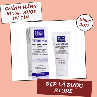 Kem Dưỡng B5 Giúp Tái Tạo & Phục Hồi Làn Da Tổn Thương MartiDerm Skin Repair Cicra Vass Cream 30ml thumbnail