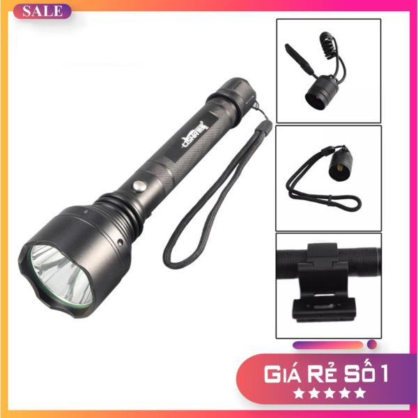 Đèn Pin Siêu Sáng, Đèn pin siêu sang S 6830 Plus, đèn bin, Đèn pin sạc điện sản xuất theo tiêu chuẩn quân đội Mỹ,  kích cỡ 25x11x6, 5 chế độ chiếu sang, pin tiêu chuẩn 100.000 giờ, bảo hành 12 tháng