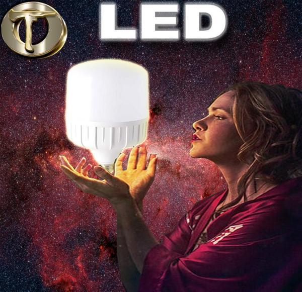Bóng Đèn Led Siêu Sáng Siêu Tiết Kiệm Điện-Đuôi Vặn (10-50W tuỳ chọn) [Bảo hành 12 tháng 1 đổi 1]