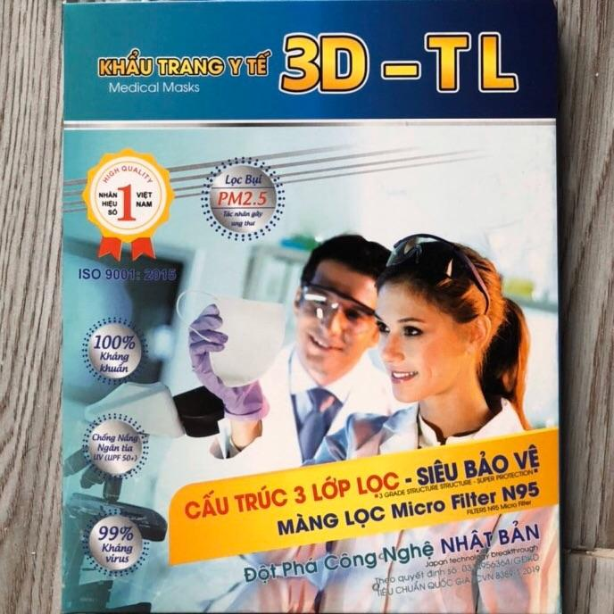 Khẩu trang 3D - TL Medical Mask N95