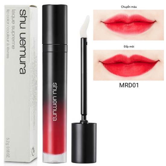 Son kem lì Shu Uemura Matte Supreme lip color M RD 01 5.2g