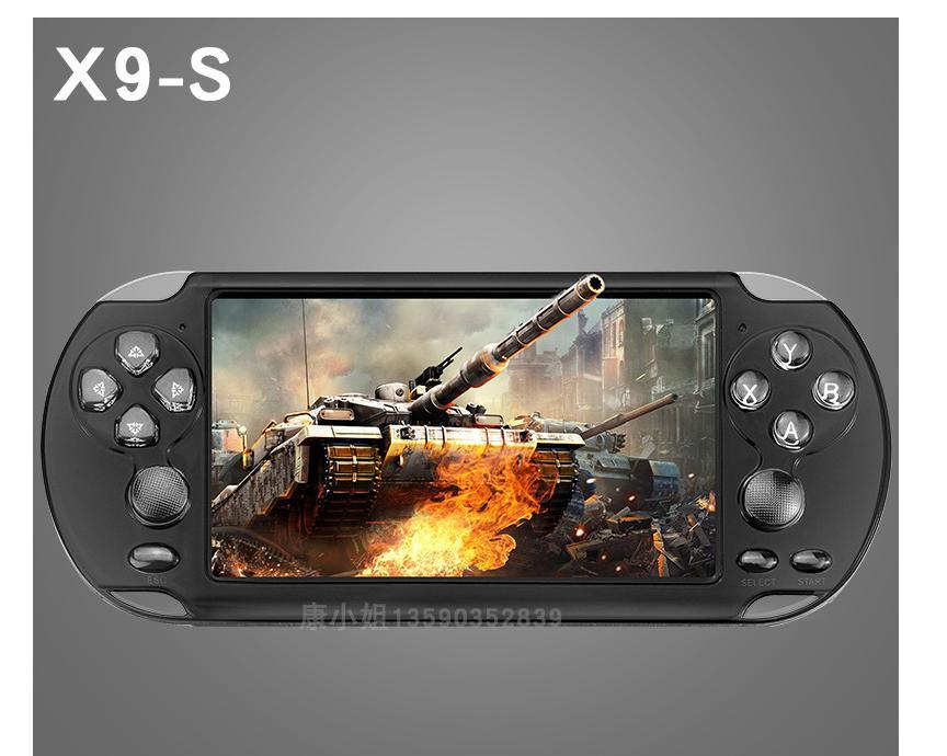 Máy chơi game X9-S -2019 màn hình 5.1inch, chơi được PS1 và 10 hệ máy, chép sẵn hơn 10.000 game