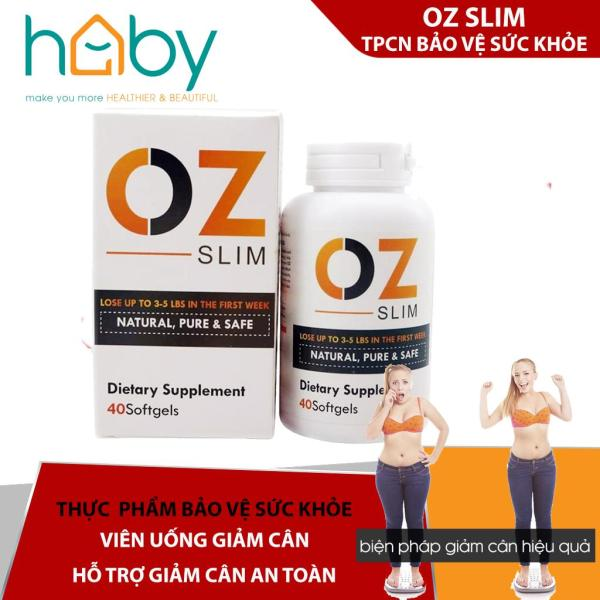 Viên giảm cân OZ Slim USA Hộp 40 viên nhập khẩu
