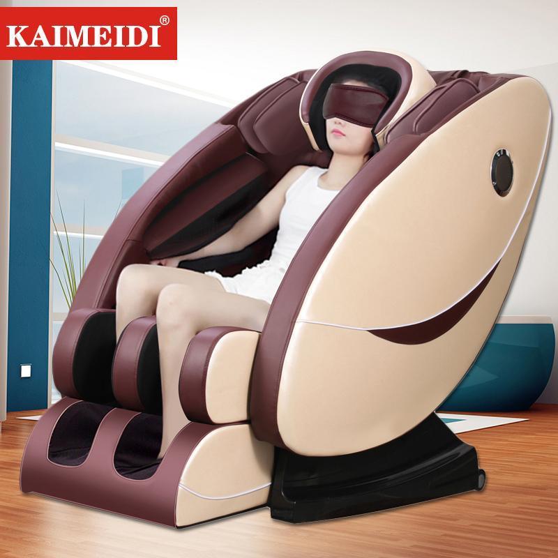 Ghế massage máy mát xa KAIMEIDI tự động đa chức năng loa Bluetooth nhạc 3D lập thể ghế mát xa kiểu phi thuyền chân không TopOne2020