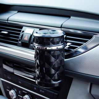 Gạt tàn, thùng rác mini có đèn led dành cho xe hơi ô tô thumbnail