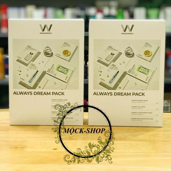[MẪU MỚI] Mặt Nạ Wonjin mẫu mới mix 4 màu hộp 15 miếng-Mask Wonjin New cao cấp