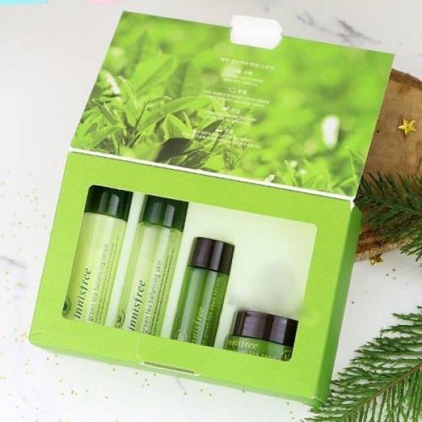 Bộ Dưỡng Da Innisfree Trà Xanh Green Tea Special Kit Set