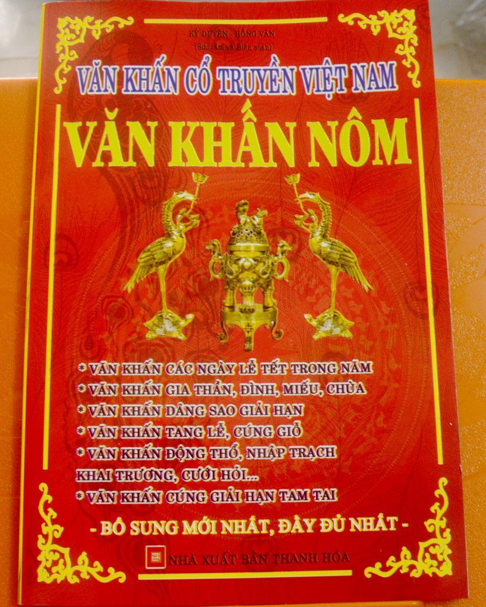 Mua Văn khấn cổ truyền Việt Nam-Văn Khấn Nôm
