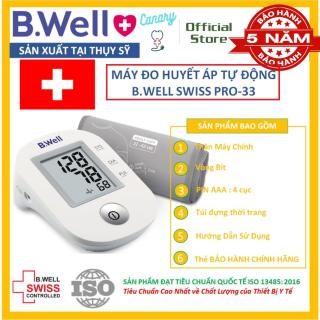 Máy đo huyết áp bắp tay tự động B.WELL Pro-33, máy đo huyết áp mới nhất 2021 chính hãng Thuỵ Sĩ thumbnail