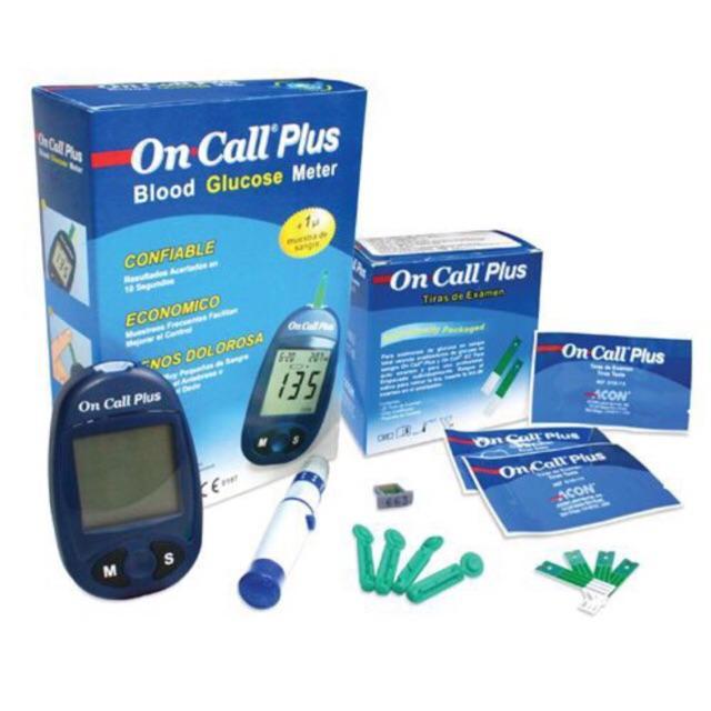 Máy đo đường huyết On Call Plus tặng 25 que + 50 kim bán chạy