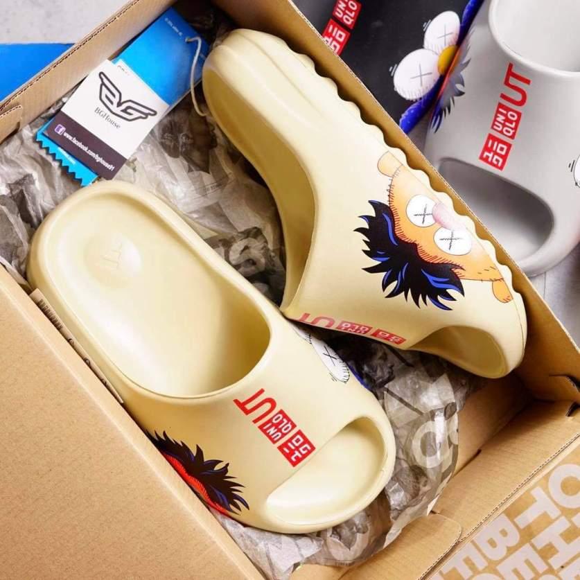 Dép lê nam nữ Yeezy Slide Kaw Uni Full Box(Có hộp Yeezy) giá rẻ