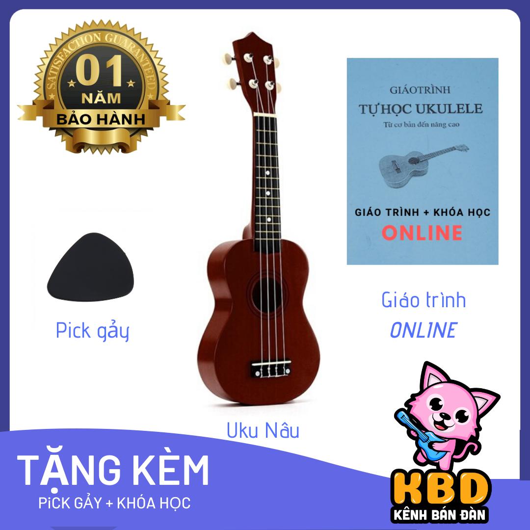 [RẺ GIẬT MÌNH] Đàn ukulele soprano 21inch tặng kèm pick gảy, và giáo trình học online