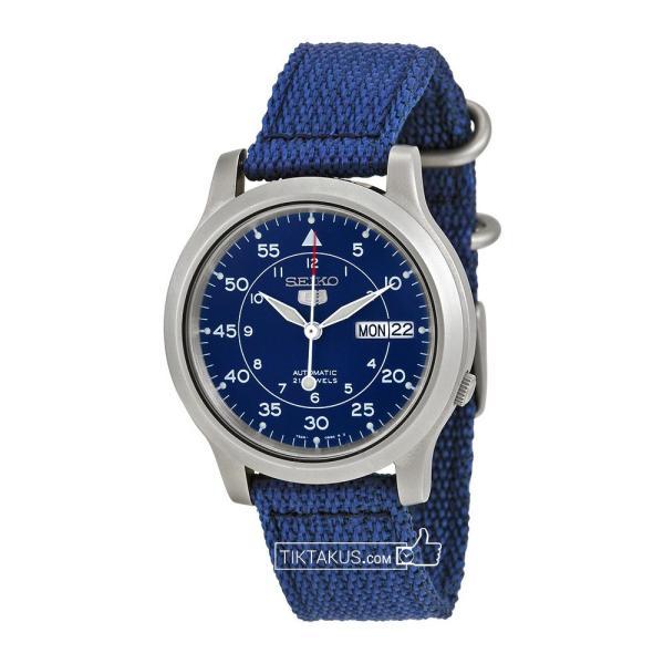 Đồng hồ nam dây dù Seiko 5 SNK807K2 (Xanh dương) bán chạy
