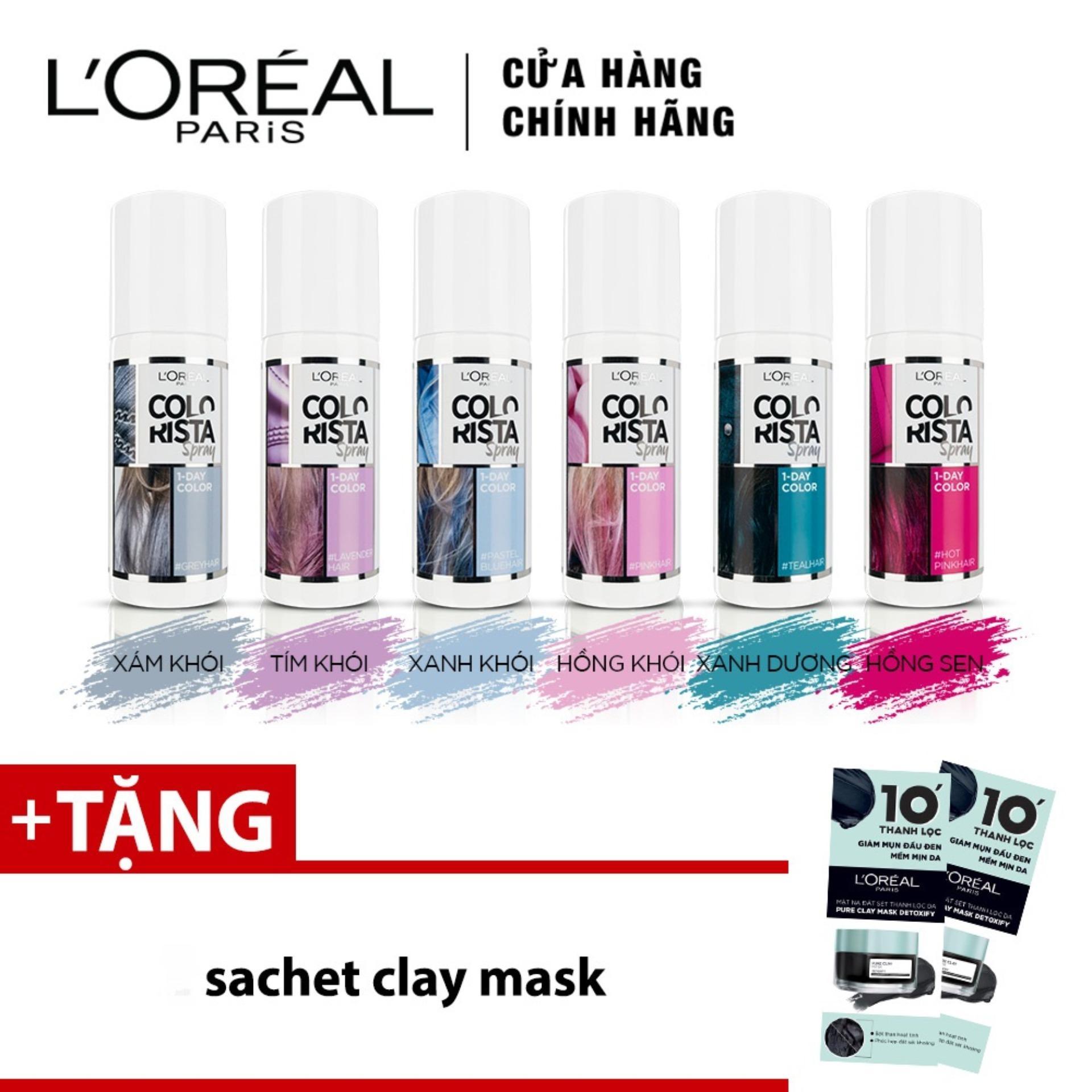 Xịt Nhuộm Tóc Tạm Thời LOreal Paris Colorista Spray 75ml tốt nhất
