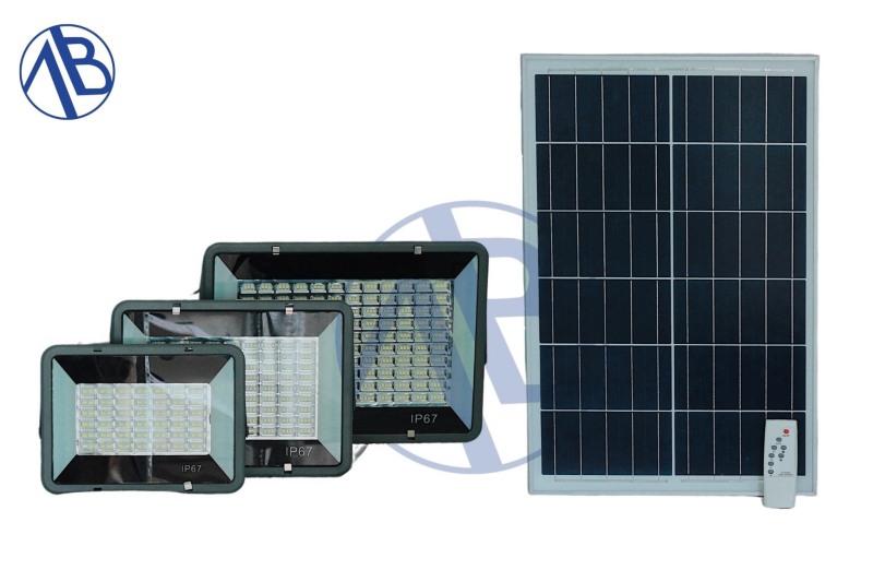 đèn năng lượng mặt trời tâm pin rời 120w