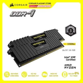 Bộ Nhớ Trong RAM PC CORSAIR VENGEANCE LPX 16GB DDR4 2x8G 3200MHz CMK16GX4M2E3200C16 thumbnail