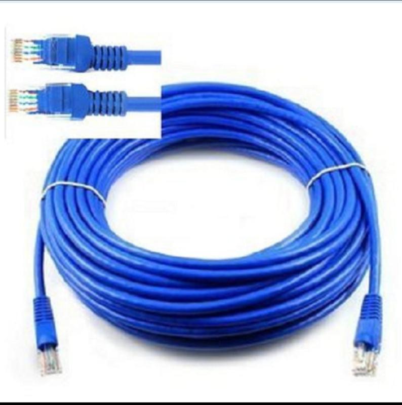 Bảng giá Cáp mạng internet/mạng LAN Cat 5E 5m, 2 đầu bấm sẵn ,Dây Mạng Lan 5 MÉT Đúc Sẵn 2 Đầu Hạt Mạng Phong Vũ