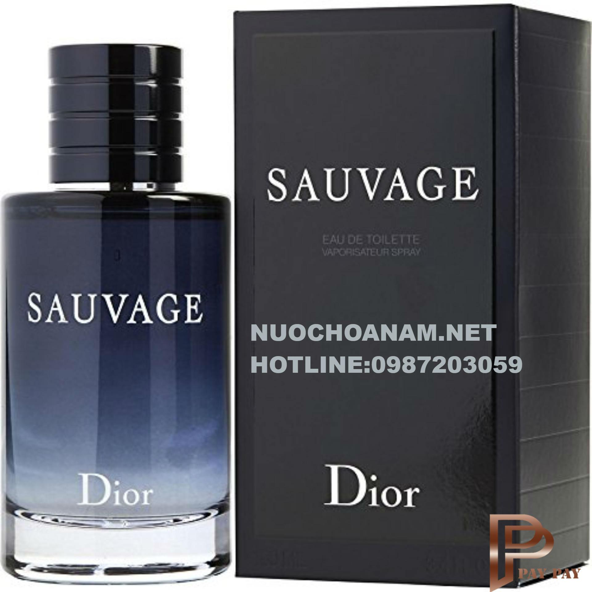 Nước Hoa Nam Dior Sauvage Eau De Toillete 100ML nhập khẩu