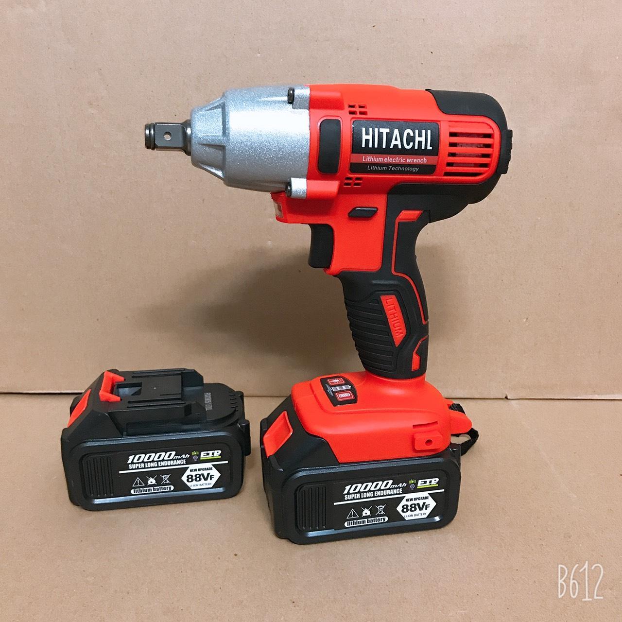 Máy siết bulong dùng pin Hitachi 320NM
