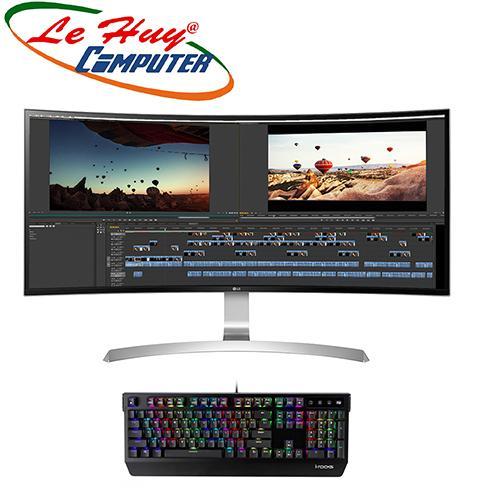 Màn hình máy tính LCD LG 34UC99 (MÀN HÌNH CONG) Tặng bàn phím cơ I-Rocks K60M RGB trị giá 1.4t