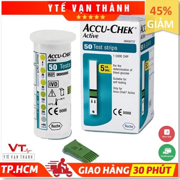 ✅ [50 QUE] Que Thử Đường Huyết: Accu Chek Active (AccuChek - Accu-Chek) Date Xa - VT0056 - [Y Tế Vạn Thành] bán chạy