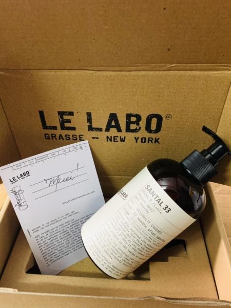 [HCM]Sữa tắm hương nước hoa Le LaBo siêu thơm nhập khẩu