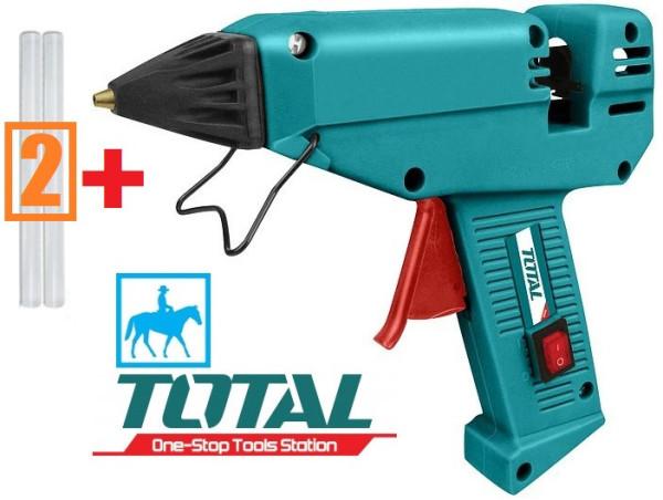 Dụng cụ súng bơm keo điện 220w total tt301111 tặng 2 cây keo - tt301111, cam kết hàng đúng mô tả, chất lượng đảm bảo an toàn đến sức khỏe người sử dụng, đa dạng mẫu mã