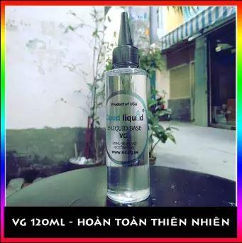 Vegetable Glycerin -  VG - dung tích 120ml dùng làm mỹ phẩm handmade, giữ ẩm cao cấp