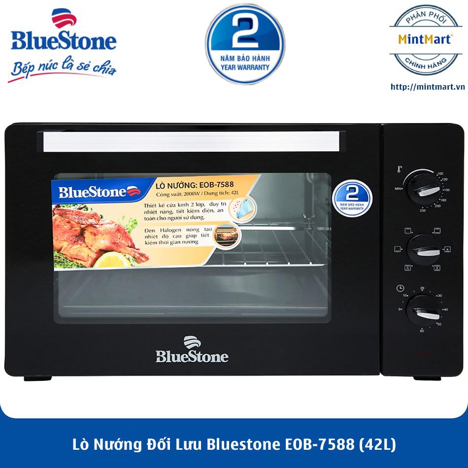 [Trả góp 0%]Lò Nướng Đối Lưu Bluestone EOB-7588 (42L) - Hàng Chính Hãng