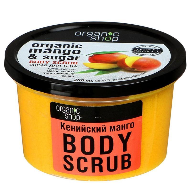 Tẩy Tế Bào Chết Toàn Thân Organic Shop Organic Mango & Sugar Body Scrub 250ml
