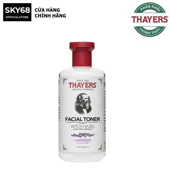 Nước Hoa Hồng Làm Sạch, Se Khít Lỗ Chân Lông Không Chứa Cồn Thayers Alcohol Free Witch Hazel Toner Lavender 355ml