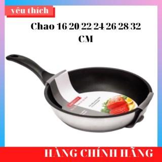 [Bảo Hành 5 Năm] Chảo Inox 3 Đáy Chống Dính Fivestar ( 16 20 22 24 26 28 Cm) Nấu Bếp Từ, Bếp Ga thumbnail