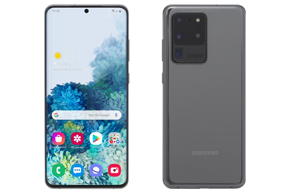 Điện Thoại Samsung Galaxy S20 Ultra (128GB/12GB) - Hàng Chính...