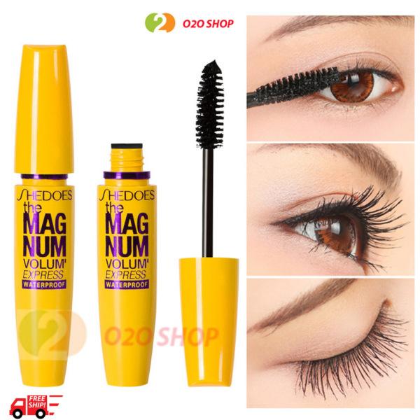 Mascara Dưỡng Collagen Chuốt Mi Vàng Siêu Cong Làm Dày O2O Shop giá rẻ