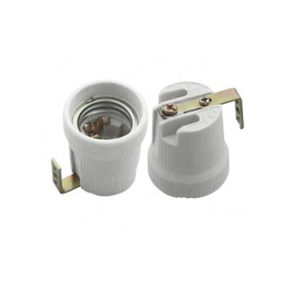 Đui đèn sứ miệng vặn E27 chịu nhiệt, chống cháy