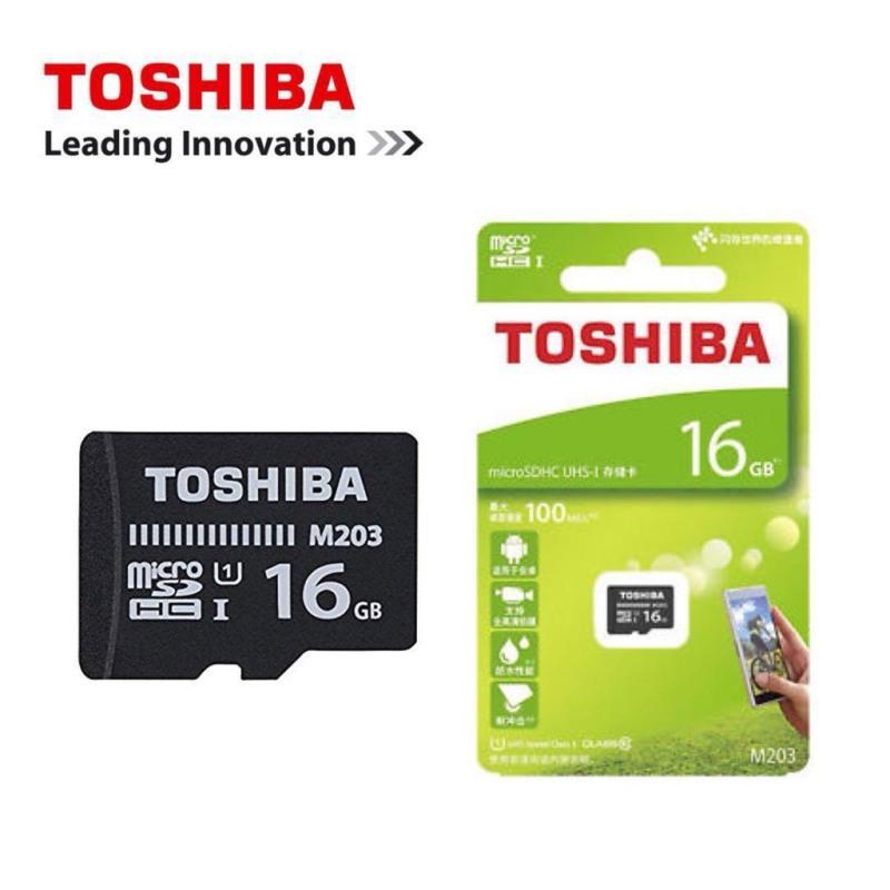 Thẻ Nhớ TOSHIBA 16GB MicroSDHC M203 UHS-I U1 100MB/s - BH 5 năm