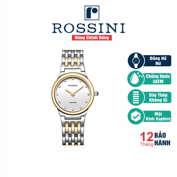 Đồng Hồ Nữ Cao Cấp Rossini - 5396T01G - Hàng Chính Hãng bán chạy