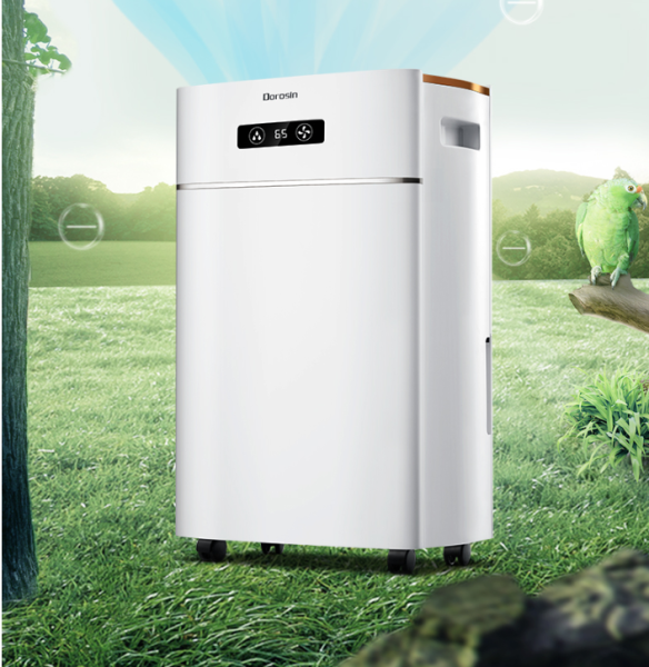 Máy hút ẩm Dorosin 20L ER-620-công suất lớn cho phòng 100m2-Hút ẩm và lọc không khí-Bảo hành 1 năm