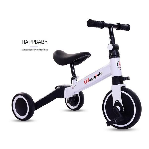 Giá bán Xe chòi chân thăng bằng HAPPYBABY kết hợp xe đạp cho bé vận động (Vàng-Trắng-Đỏ)