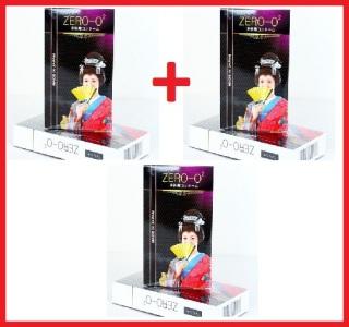Bộ 3 Hộp Bao cao su Zero O2 ( 12 bao hộp ) - Siêu mỏng 0.02mm thumbnail
