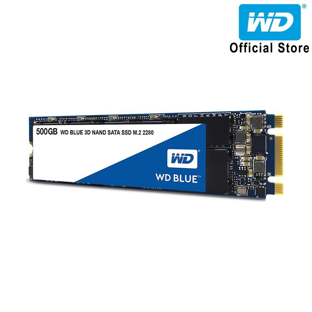 Ổ cứng SSD WD Blue 3D-NAND M.2 2280 SATA III 500GB WDS500G2B0B