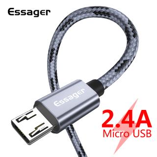 Essager Cáp sạc nhanh Micro USB chất liệu nylon dành cho Samsung Oppo Vivo Xiaomi Redmi Note 5 giá siêu tốt thumbnail