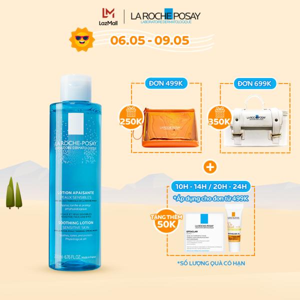 Nước cân bằng giàu khoáng dành cho da nhạy cảm La Roche-Posay Soothing Lotion Sensitive Skin 200ml
