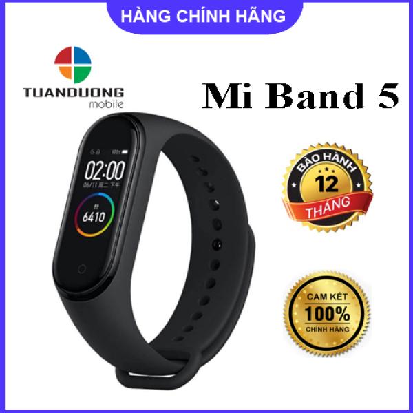 Vòng tay theo dõi sức khoẻ Mi Band 5 Xiaomi   Miband 5 -  Hàng Chính Hãng Digiworld