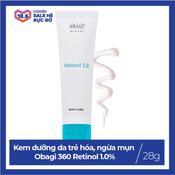 Kem dưỡng da trẻ hóa, ngừa mụn, chống lão hóa Obagi 360 Retinol 1.0% 28g nhập khẩu