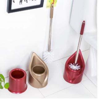 Bộ bàn chải vệ sinh tolet inox không gỉ đầu chổi sợi thumbnail