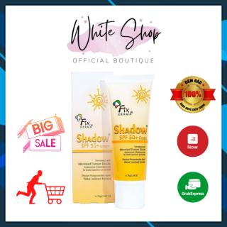 Kem chống nắng Fixderma shadow SPF 50+ cream 75gram White Store thumbnail
